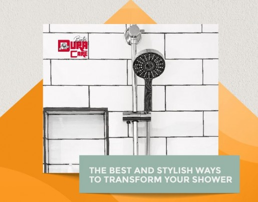 THE BEST AND STYLISH WAYS TO TRANSFORM YOUR SHOWER featured image